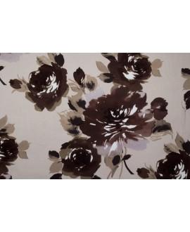 Tela NIVIA 4 terciopelo con rosas