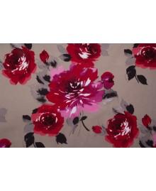 Tela NIVIA 6 terciopelo con rosas